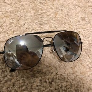 Ray Ban The General - Silver Flash Lens